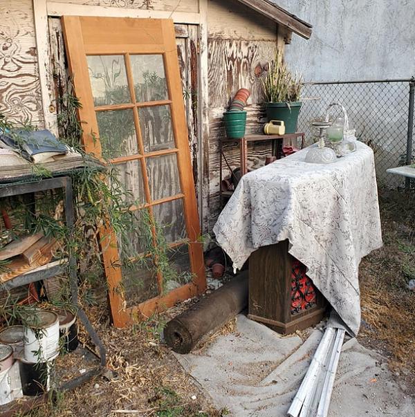 yard junk for removal in rialto ca